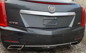 2014 cadillac cts sedan rear bumper w/