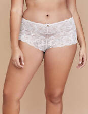 ba5f700e2 CACIQUE Lace Cheeky Boyshort Soft PINK Panties PLUS 26 28 Floral Lane  Bryant NWT