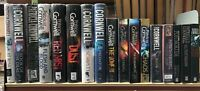 PATRICIA CORNWELL: job lot collection of 17 adult fiction books