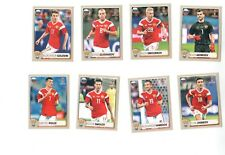 Panini World Cup Russia 2018 full set extra stickers M1-M8
