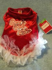 Holiday Time Candy Cane Cutie  Size Medium  New