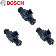 Mercedes Benz C240 C320 CLK320 E320 ML320 SLK320 Set of 3 Bosch Fuel Injectors