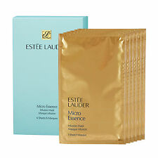 Estee Lauder Micro Essence Infusion Mask 6 Sheets Deep Nourishing Hydration NEW