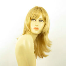 Perruque femme mi-longue blond clair doré CARLY LG26