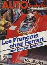 AUTO HEBDO n°245 du 11 Décembre 1980 Robert Choulet Les Français chez Ferrari