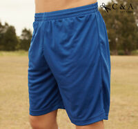 Unisex Adults Breezeway Football Soccer Shorts With Anti-Bacteria Sun Protection