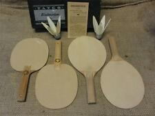Vintage Birdmitten Set > RARE Antique Table Tennis Indoor Game Bird Mitten 8100