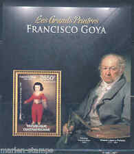 CENTRAL AFRICA 2012 FRANCISCO GOYA   SOUVENIR SHEET MINT NH