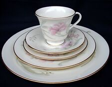 LENOX CHINA HEIRESS PLACE SETTING DINNER SALAD BREAD PLATE CUP & SAUCER