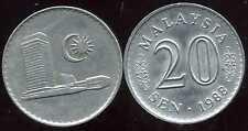 MALAISIE 20 sen 1988  ( bis )