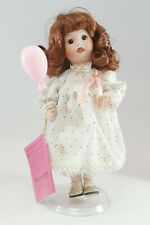 Treasury Collection Paradise Galleries Fridays Child Solid Porcelain Doll EUC