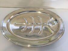 "Vintage Concord International Silver Company Large Meat Serving Platter, 21 1/2"""