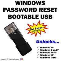 Windows Password Reset boot USB disk for Windows Fast password recovery NEW V7.0