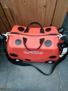 Trunki Harley The Ladybird Ladybug Ride On Suitcase Children's Luggage