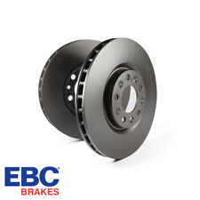EBC Brakes Non Slotted Replacement Front Brake Discs - D1624