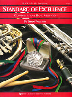Standard of Excellence: Alto Saxophone Book 1 - Band Method Book W21XE