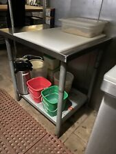 Commercial Kitchen Work Table