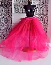 Barbie doll Mattel hot pink sheer gown underlay dress skirt clothes