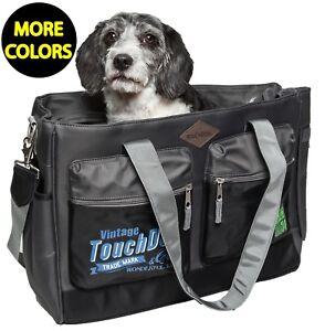 Touchdog Active-Purse Water Resistant Designer Travel Pet Dog Carrier Bag
