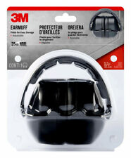 3M Earmuff Headphones Ear Hearing Protection Range Shooting Padded Black Folding