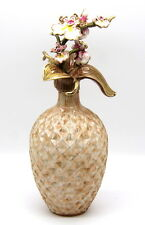JAY STRONGWATER ORCHID BRANCH PERFUME BOTTLE SWAROVSKI CRYSTALS.(STORE DISPLAY).