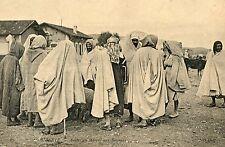 POSTCARD / CARTE POSTALE TUNISIE BIZERTE ARABES AU MARCHE AUX BESTIAUX
