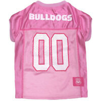 Georgia Bulldogs Licensed NCAA Pets First Dog Pet Pink Jersey Sizes XS-L