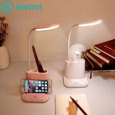 USB Rechargeable LED Desk Lamp Touch Adjustment Table Lamp for Children Kids