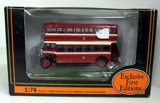 EFE 1/76 Scale 27201 Leyland TD1 Open Stair Bolton Corporation diecast model bus