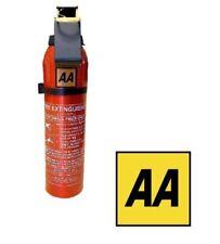 AA Fire Extinguisher Powder 950g Bsi App Car Home Caravan Van Portable Compact