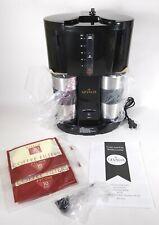 Gevalia Coffee For Two Coffee Maker Black WS-02AB w/ 2 Travel Mugs