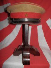 WW2 Japanese Army Officer Hat.Mr NAKAYAMA TAKAO.1942 Very Good