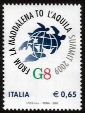 ITALY MNH 2009 SG3217 G8 SUMMIT L'AQUILA