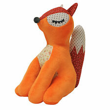 Little Big Cloud Fox Orange Red Kids Childrens Cushion Decoration Plush Toy