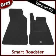 SMART Roadster 2003 2004 2005 2006 2007 montato su misura moquette tappetini Grigio
