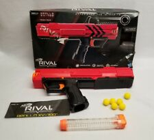 New (opened) Nerf Rival Apollo XV-700 (Red) includes instructions, 7 balls, more