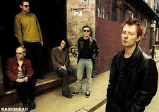 Radiohead Poster A1 Size 84.1cm x 59.4cm - approx 33 inches x 24 inches