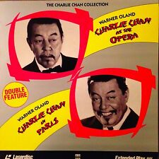 Charlie Chan - At The Opera / In Paris -  Laserdisc Buy 6 for free shipping