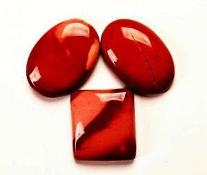 78.25 Cts. Natural Royal Red Mookaite Jasper Cabochon Certified Gemstone
