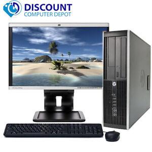 "HP Desktop Computer PC Core i5 Windows 10 PC 3.1GHz 8GB 500GB DVD WiFi 19"" LCD"