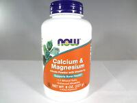 NOW - Calcium & Magnesium Citrate Powder w Vitamin D3 - 8 oz [VS-N]