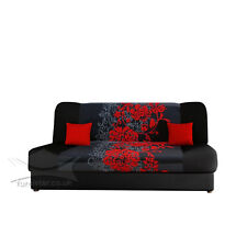 "NEW SOFA SETTEE COUCH BED ""LUX"" WERSALKA POLSKIE WERSALKI DOUBLE THREE SEATER"