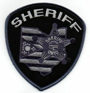 OHIO OH COUNTY SHERIFF SUBDUED NEW SHOULDER PATCH POLICE