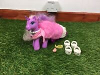 Lightup Lily Lightly My Little Pony Earth Pony Purple G3 Pink Sparkly Hair