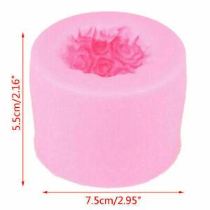 Silikon Kerzenform Rose Ball Aromatherapie Kerzen Seifenform Handwerk Backen