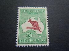 Australia1913 alto valore canguro VEDDE PISELLO con gomma M.N.H.** molto raro