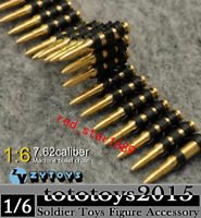 ZY TOYS Machine Bullet Chain Toy 1/6 Model scale Ammunition Belt For 12'' Figure