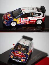 Ixo Citroën C4 WRC n°1 S. Loeb 2009 1/43 RAM405