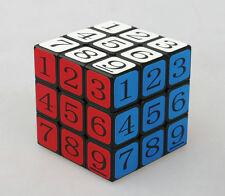Cubetwist 57mm 3x3x3 Digital Magic Cube Sudoku Numbers Black Toy Gift