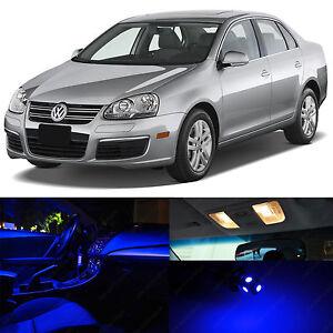 Blue Interior LED Lights Package Kit for 2005-2010 Volkswagen Jetta MK5 VW